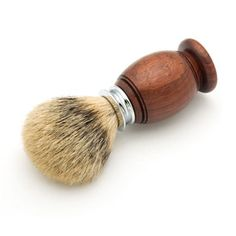 Artisan Premium Badger Shaving Brush Kits from Craft Supplies USA - This featu. - Ggggg - Welcome Crafts Best Shaving Razor, Mens Shaving Brush, Badger Shaving Brush, Shaving Soap, Wood Craft Supplies, Wood Turning Projects, Lathe Projects, Woodworking Projects, Barbers