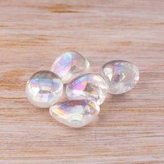 Rainbow Angel Aura Quartz Gemstone Mineral by BelladeLunaDesigns