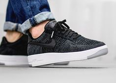 a4ad6e4f995a Nike Air Force 1 Ultra Flyknit Low - Black (by asphaltgold) Buy here