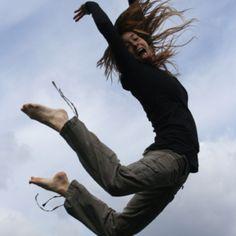 Flying!! (I love trampolines)