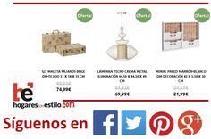 #ofertas del día en hogaresconestilo.com!!! #home #hogar #estilo #deco #decoración