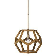 Lauren by Ralph Lauren Honeycomb Wood Lantern