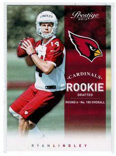 Football Trading Cards - 2012 Prestige RC Ryan Lindley