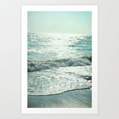 Ocean+Blues+Art+Print+by+Bella+Blue+Photography+-+$18.00