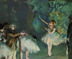 Degas' Ballet Rehearsal, 1875, George G. Frelinghuysen Collection in NY