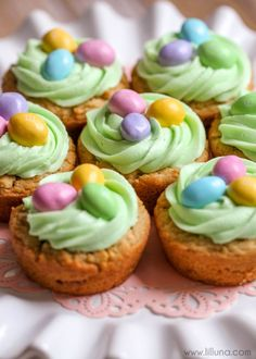 Easter Basket Cookie Cupswomansday