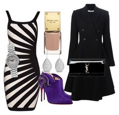 """""""Fun evening"""" by diorartist on Polyvore featuring Christian Louboutin, Givenchy, Yves Saint Laurent and Baume & Mercier"""