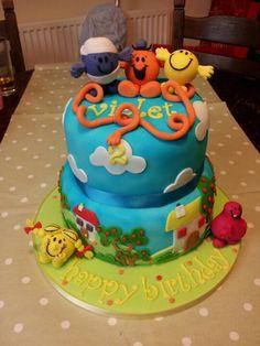 #Cake | Mr Men cake #boys