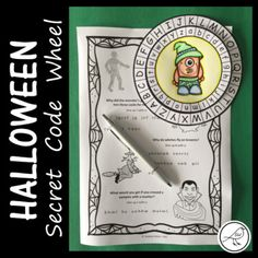 Let your students become a & Agent& or a & for the day with this fun Halloween resource. They will thank you for such a cool lesson! Here& what your students can do: Make a secret code wheel. Use the code wheel to decipher Halloween Jokes, Secret Code, Classroom Resources, Print Templates, Spy, Alphabet, Students, Coding, Messages