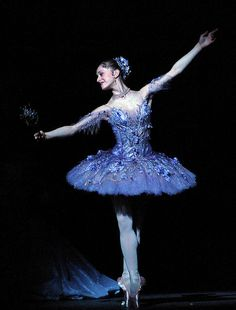 Marianela Nunez as the Lilac www.theworlddances.com/ #costumes #dance
