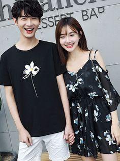All-matching Fashion Light Couple Shirts Couple Jacket, Beautiful Outfits, Beautiful Clothes, Ulzzang Couple, Fashion Lighting, Couple Shirts, Wholesale Clothing, Romances, Couples
