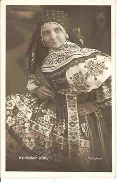 Folk Costume, Costumes, Polish Embroidery, Folk Clothing, Vintage Pictures, Beautiful Patterns, Czech Republic, Traditional Dresses, Germany
