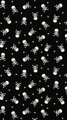 Black Phone Wallpaper, Halloween Wallpaper Iphone, Skull Wallpaper, Dark Wallpaper, Cellphone Wallpaper, Screen Wallpaper, Aesthetic Iphone Wallpaper, Pattern Wallpaper, Aesthetic Wallpapers