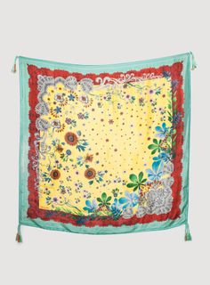 Johnny Was: Botanical Lace Scarf