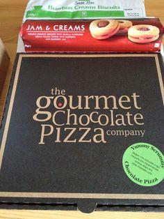 The Gourmet Chocolate Pizza Company - Yummy Scrummy Chocolate Pizza