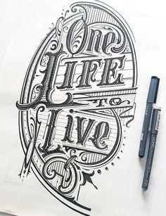 Hand lettering iv on behance hand typography, hand drawn lettering, creat. Hand Typography, Hand Drawn Lettering, Graffiti Lettering, Vintage Lettering, Typography Letters, Lettering Design, Hand Drawn Type, Vintage Logos, Retro Logos
