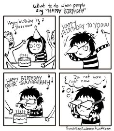 Birthdays for the Socially Awkward