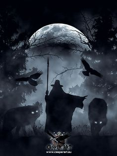 Odin by thecasperart.deviantart.com on @DeviantArt