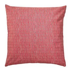IKEA - STOCKHOLM 2017, Cushion, Cotton velvet gives depth to the color and is soft to the touch.The duck feather filling feels fluffy and gives your body excellent support.The zipper makes the cover easy to remove.