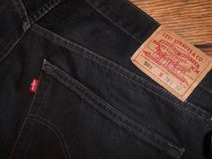 M38x32 Levis 501 Mens Vintage Black Button Fly Jeans - Vintage 501Levis Button Fly Denim for Men on Etsy, $42.00