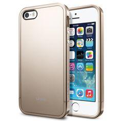 Чехол SGP Linear Metal Series Champagne Gold OEM для iPhone 5/5S/SE