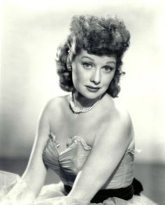 Lucille Ball publicity photo for Lux Radio Theatre, 1951