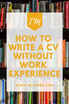 If you have limited or no work experience, it might seem impossible to stand out from the competition in the selection p Best Resume Format, Basic Resume, Visual Resume, Modern Resume, Cv Writing Tips, Work On Writing, Resume Writing, Cv For Students, Cv Skills