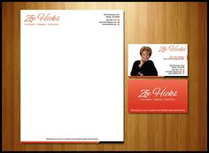 create a winning logo for Zoe M. Hicks by Gubrack
