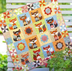 Mr Fox's Garden Quilt Patterns PDF Pattern Quilts