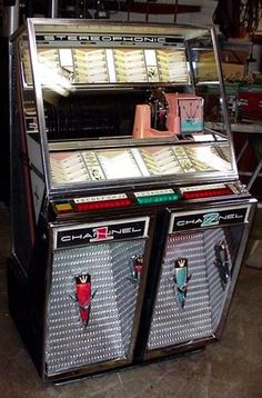 1959 Seeburg 222 Jukebox Antique Old Vintage V VL KD 201 R G C | eBay