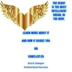 Your heart has it's own intelligence. It is the smartest organ and guides the body. It even communicates with the brain and CNS. It's key to ascension! #Enlightenment #Rumi #Ascension #Meditation #TwinHearts #Heart #HeartSpace #Poetry #Blogs #BlogPosts #Knowledge #Meme #Fact #KindledSparkServices #CamelLotBlog #CamelLotShop #GroupMonthly #GroupMonthlyLight #ExecutiveLeadershipActivation #ArgentoCodes