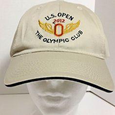 dfd7f4cdf45 USGA Member Men Baseball Cap 2012 US Open OLYMPIC CLUB Golf Adjustable Hat  NEW  USGA