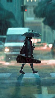 After Practice by Guweiz Digital 2016 via /r/Art. Anime Backgrounds Wallpapers, Anime Scenery Wallpaper, Anime Artwork, Animes Wallpapers, Cute Wallpapers, Foto Fantasy, Fantasy Anime, Fantasy Art, Art Anime Fille