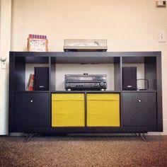 IKEA Hackers: Easy Mid Century Ikea Credenza