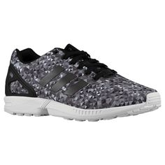 in stock 523a4 c8a67 adidas Originals ZX Flux - Men s - Running - Shoes - Black Black White