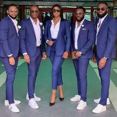 Best Man Outfit Wedding, Blue Suit Wedding, Wedding Suits, Wedding App, Wedding Ideas, Wedding Bride, Wedding Planner, African Fashion Dresses, African Dress