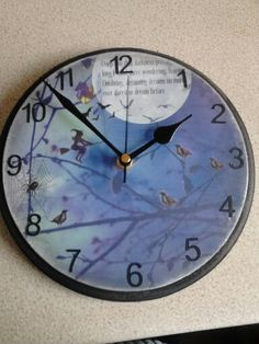 8 inch witching hour clock