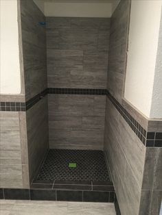 Commercial shower