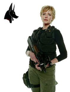 Stargate SG-1 Amanda Tapping Hot | Render Films et Séries TV - Renders Stargate SG1 Amanda Tapping Serie