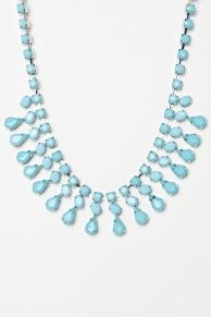 Mini Waldorf Necklace in Blue