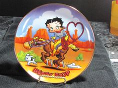 Franklin Mint Franklin Mint, Betty Boop, Snow Globes, Decorative Plates, Painted Porcelain, Dishes, China Painting