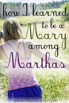 Are you distracted by busyness & preparations? There's a story in the Bible about two women - Mary & Martha. One distracted, and one sitting at the feet of Jesus. Are you a Martha longing to be a Mary? Read here for the 3 things God taught me about learning to be a Mary in a world full of planning and busyness, schedules and expectations.