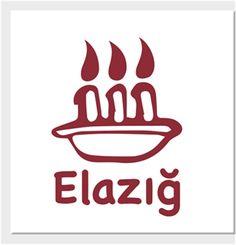 Elazığ - Logo - Kendin Tasarla - Kanvas Tablo 25x25cm Kare