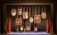 image result for addams family musical set addams family set