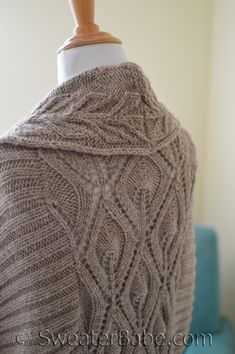 Knitting pattern preview and Giveaway, including this stunning #191 Tabitha Cardigan.