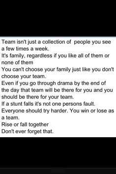When teammates become family