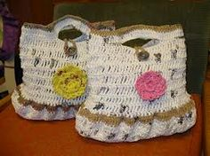 This are the purse I crochet