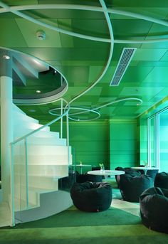 Golucci Diseño Internacional acaba de poner los toques finales a un nuevo restaurante de 3 pisos en Pekín conocido como el restaurante PS