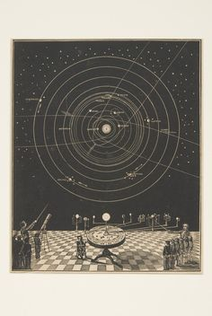 Asa Smith, Illustrated Astronomy, 1852. Lecture with telescope and portable orrery raises the distinctions between model and reality.