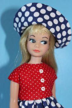 Vintage Barbie Japanesse Side Glancing Skipper - Sold only in Japan.